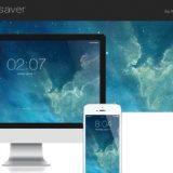 iOS 7 screensaver for mac OS X