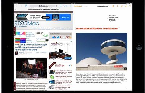 iOS 8ではついに2画面でのマルチウィンドウ環境が実現するかも?