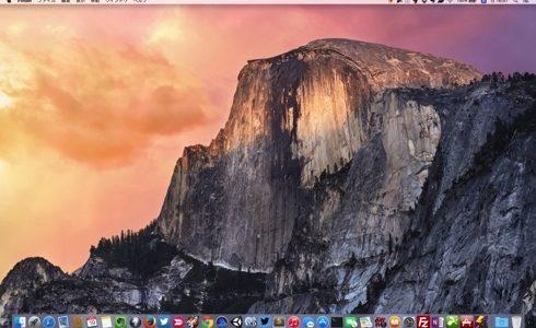 MacをOS X Yosemiteにしました!&透明度を下げる方法