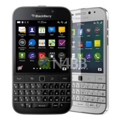 「BlackBerry Classic」のホワイトカラーバージョン