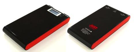 ジャストシステムの大容量10000mAhのモバイルバッテリー「IMD-L112JS」