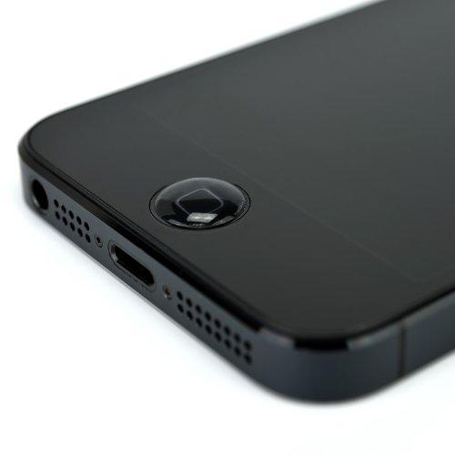 iPhone 5Sのホームボタンは指紋センサ搭載で出っ張るかも!?