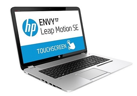 HPからLeap Motion搭載ノート「ENVY17 Leap Motion SE」が登場!