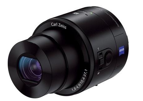 ソニーがレンズ型デジカメ「Cyber-shot DSC-QX100」「Cyber-shot DSC-QX10」を発表!折りたたみ変形のVAIOも!