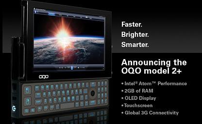 OQOが世界最小のVistaマシン「OQO model 2+」を発表