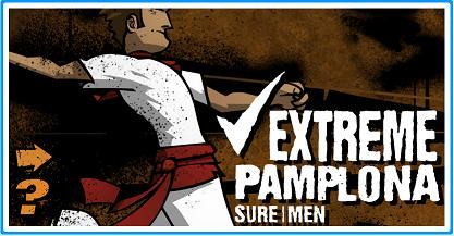 ひたすら逃げるアクションゲーム「Extreme Pamplona」