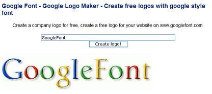 テキストをGoogleのロゴ風にしてくる「GoogleFont」