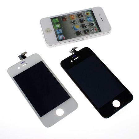 iPhone4Sを落として液晶を割っても自分で修理できる「iPhone4S 対応 交換パーツ デジタイザー タッチパネル」