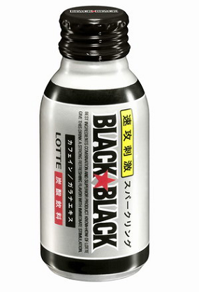 「ブラックブラックガム」が炭酸飲料に!?ブラックブラック<スパークリング>が5月21日に発売に