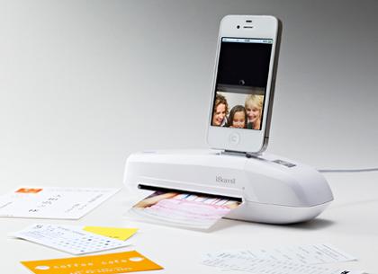 キングジムからiPhoneに直接データを取り込めちゃうスキャナ「iスキャミル ミニ」が登場!