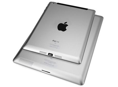 【アップル瓦版】iPadとiPad miniの比較画像