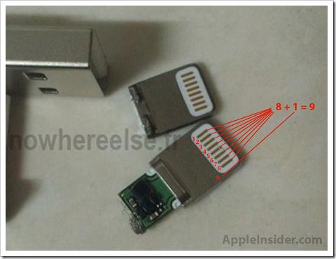 【アップル瓦版】iPhone 5から採用されるらしい新型Dockコネクタはどちらでも挿せる!