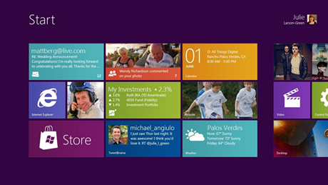 ユーザーインターフェイスに「Metro(メトロ)」を採用したWindows 8 Developer Preview 版が配布開始!
