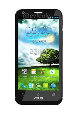 ASUSのスマートフォンがタブレットに変身する「Padfone 2」