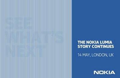 Nokiaが5月14日に新Lumiaシリーズを発表