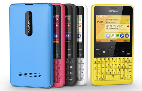 NokiaのQWERTYキーボード搭載フィーチャーフォン「Asha 210」が素敵!