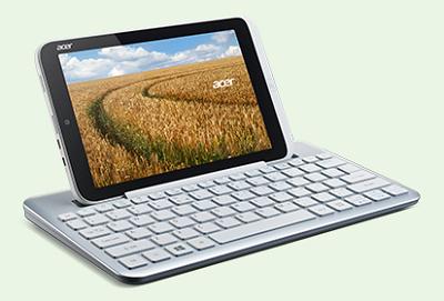Acerから8.1インチのWindows 8 Proタブレット「Iconia W3」が登場!
