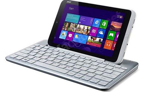Acerから世界初となる8.1型のWindows 8タブレット「Iconia W3」が登場!