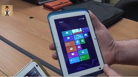 世界初!「Windows 8.1」を搭載した7インチタブレット「Lyon」