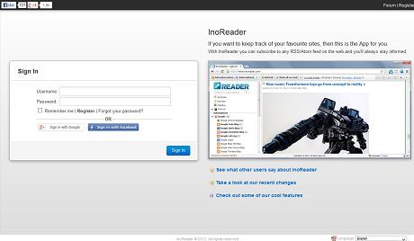Google Readerにかなり近いかも!RSSリーダー『InoReader』を試してみた