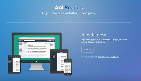 Google Readerもついに終了ということでAOL Readerを使ってみた!