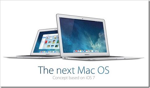 もし次のMac OSがフラット化したらこんな感じ!?