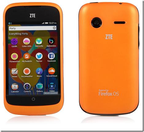 ZTEのFirefox OS搭載端末「ZTE Open」が日本でも購入可能に!