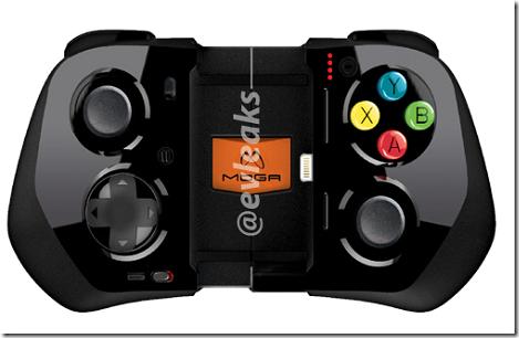 バッテリー内蔵で長時間iPhoneでゲームができるゲームコントローラ「MOGA Ace Power」