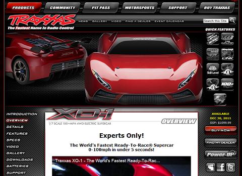 iOS対応のラジコン「Traxxas XO-1」が出せる速度は時速160キロ!