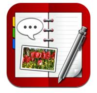 高機能でスクラップ帳のように楽しく記録できる!2012年の日記はiPhoneアプリの「i手帳」に決めた!
