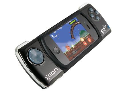 「iCade Mobile」でiPhoneが本格携帯ゲーム機に変身!