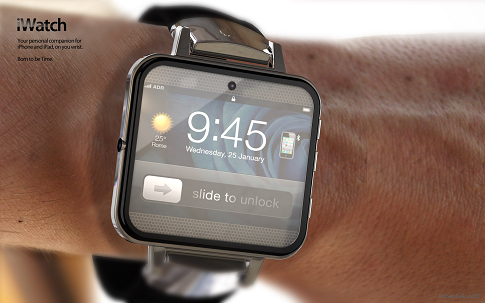 こんな時計なら付けてみたいカモ。iPhoneやiPadと連携する腕時計「iWatch 2」