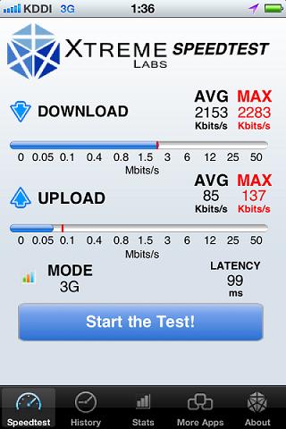 au iPhone 4Sで「3G」ではなく低速になってしまう「○」が一部で頻発に発生