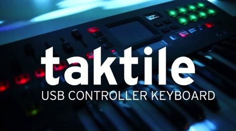 [NAMM]KORGがMIDIコントローラー「taktile」とTRITON音源を搭載した「TRITON taktile」を発表!
