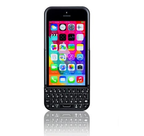 BlackBerryみたいにQwertyキーボードを搭載したケース「Typo 2」が発表!