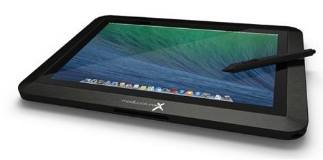 15インチのMacBook Pro Retinaがタブレットになる!「Modbook Pro X」