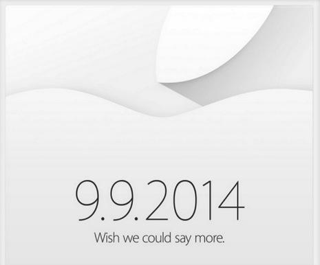Appleが9月9日にプレスイベント開催!「iPhone 6」だけでなく招待状のヒントから「iWatch」もついに出る!?