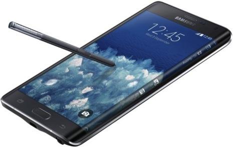 【動画あり】iPhoneを超える先進的なデザイン!曲面ディスプレイ搭載のSamsungの「Galaxy Note Edge」
