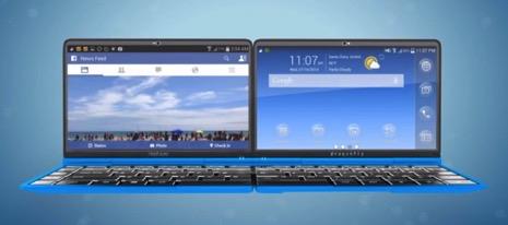 4つ折りで変形!Android&WIndows搭載の新世代デバイス「Dragonfly」が凄い!