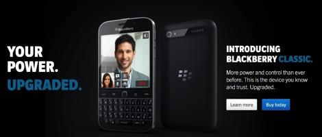 見てると欲しくなる!BlackBerry Classic公式デモ動画が続々公開!
