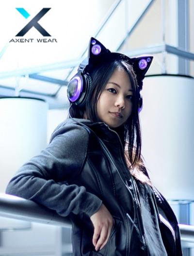 あのネコ耳ヘッドフォン「AXENT WEAR」がついに発売に!