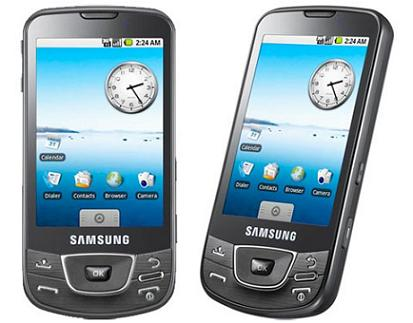 SAMSUNGのAndroidを搭載した携帯「Samsung GALAXY」を日本でも初公開