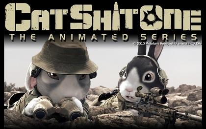 フル3DCGアニメ「Cat Shit One」は見応えたっぷり!