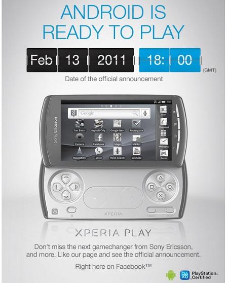 ソニエリがついにプレイステーション携帯「Xperia PLAY」を正式公開!