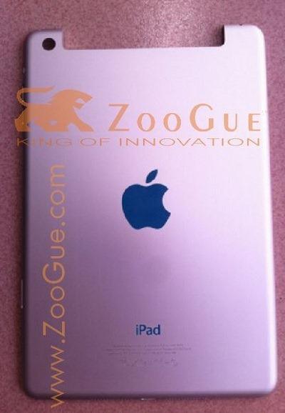 iPadの小型版「iPad nano」の筐体が流出?