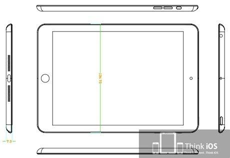 【アップル瓦版】「iPad mini」の図面が流出!?