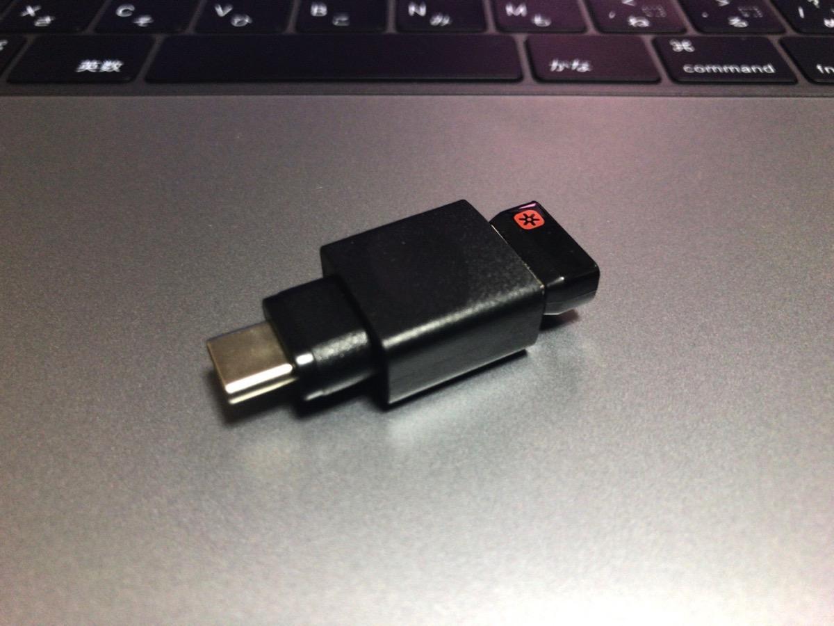 【MacBook Pro 2017 レビュー】USB Type-C変換アダプタでワイヤレスマウス「M705t」を利用する