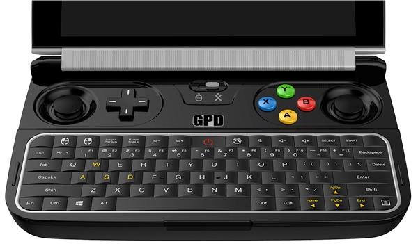 ゲーム向け超小型PC「GPD Win」の性能を強化した後継機種「GPD Win 2」が開発中!