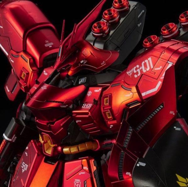 MG 1/100 ガンダムベース限定 サザビーVer.Kaが登場&V2アサルトバスターガンダム Ver.Kaも発売決定!