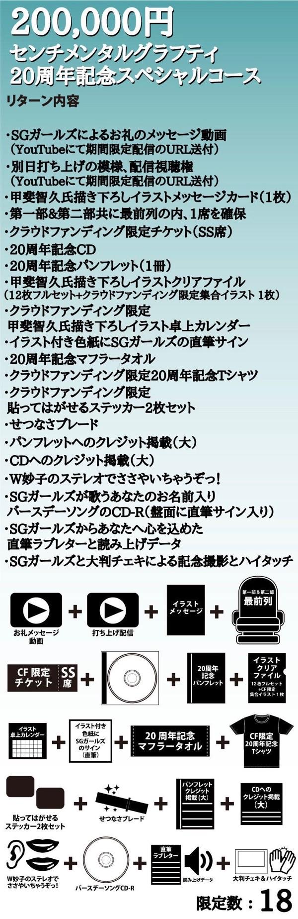 センチメンタルグラフティ20周年記念スペシャルコース